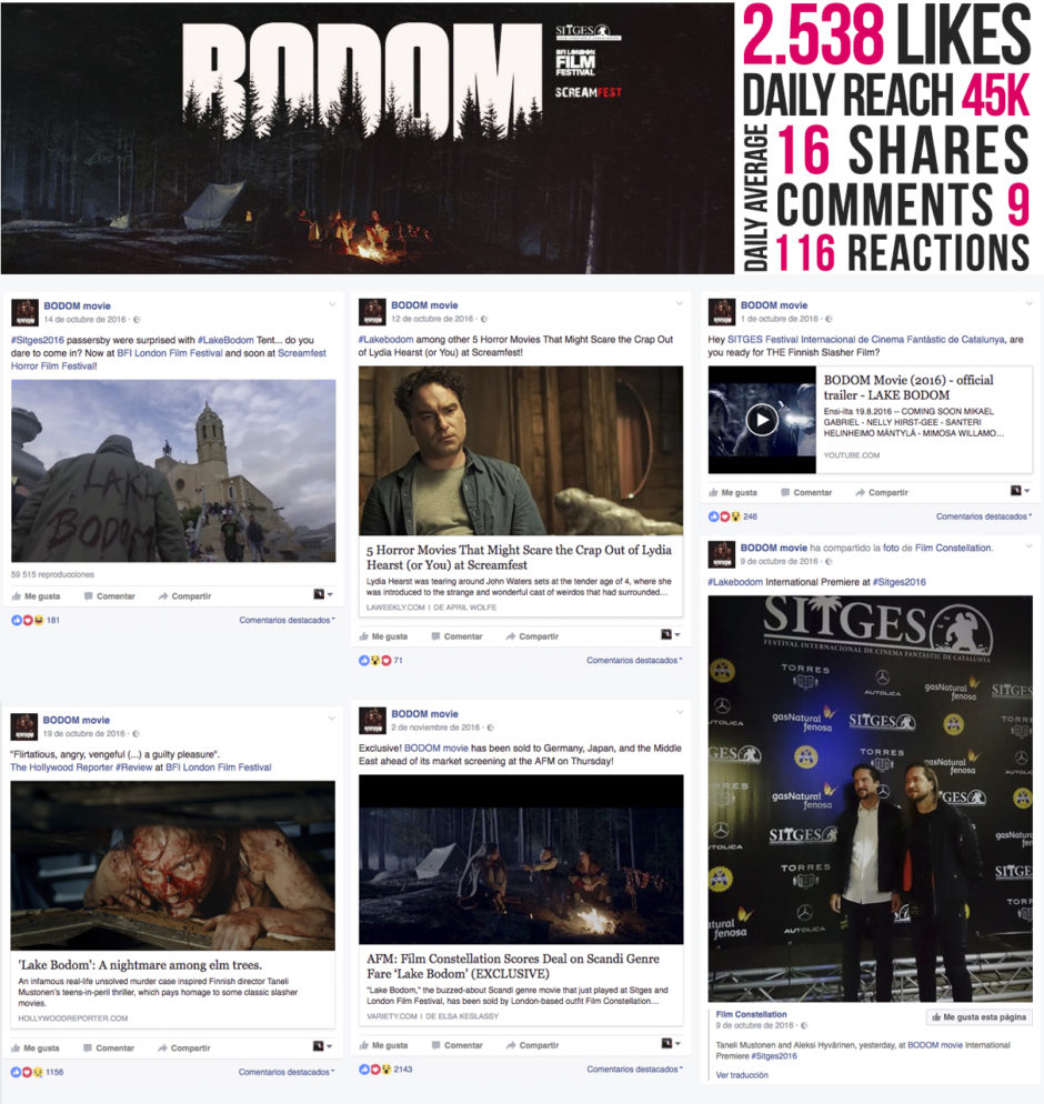 Bodom fb insights