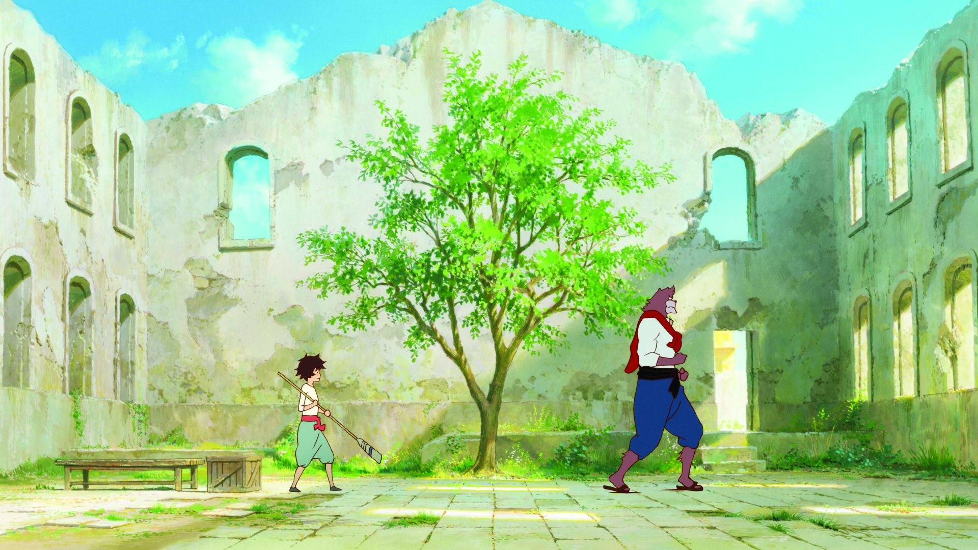 Copyright2015 The Boy And The Beast Film Partners Ressources 2015