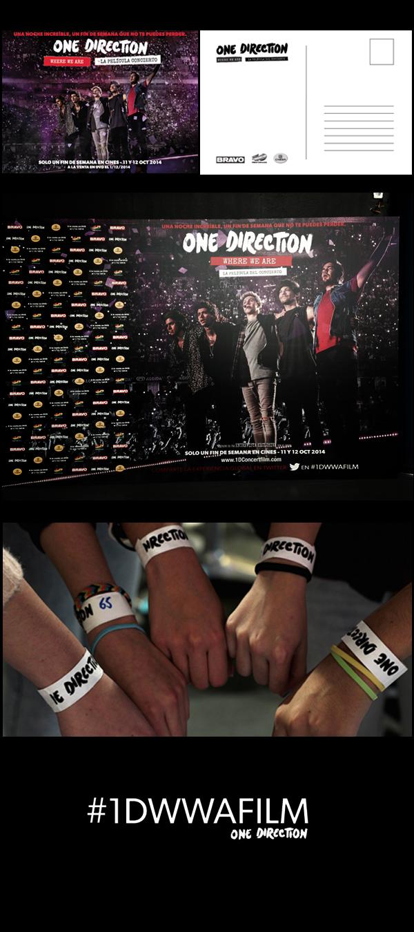 360º Promotion Event Cinema - One Direction