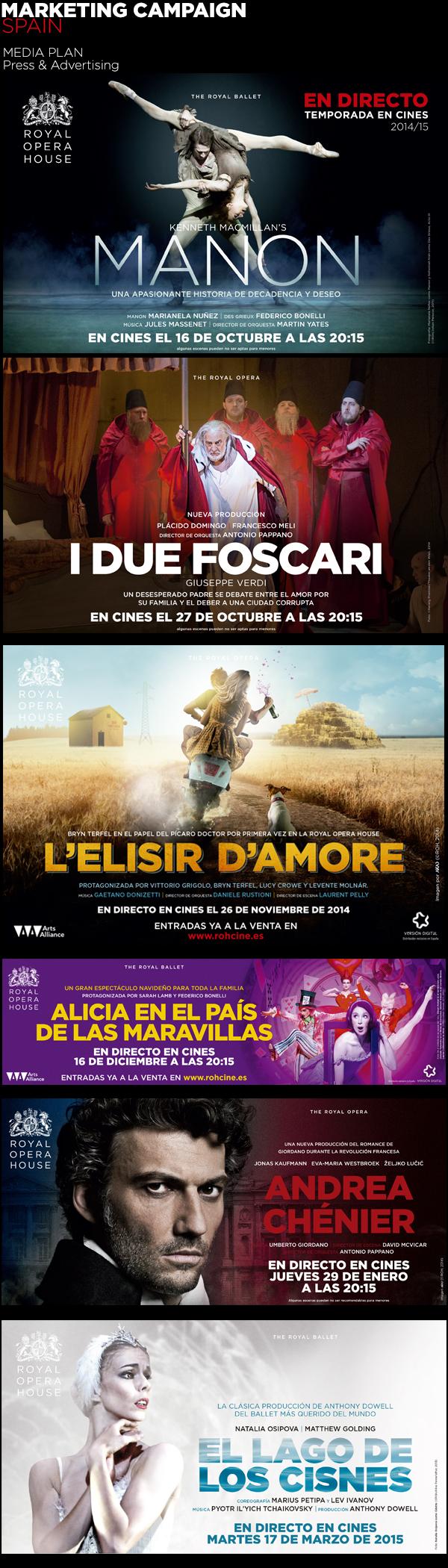 360º Event-Cinema Promotion - Royal Opera House